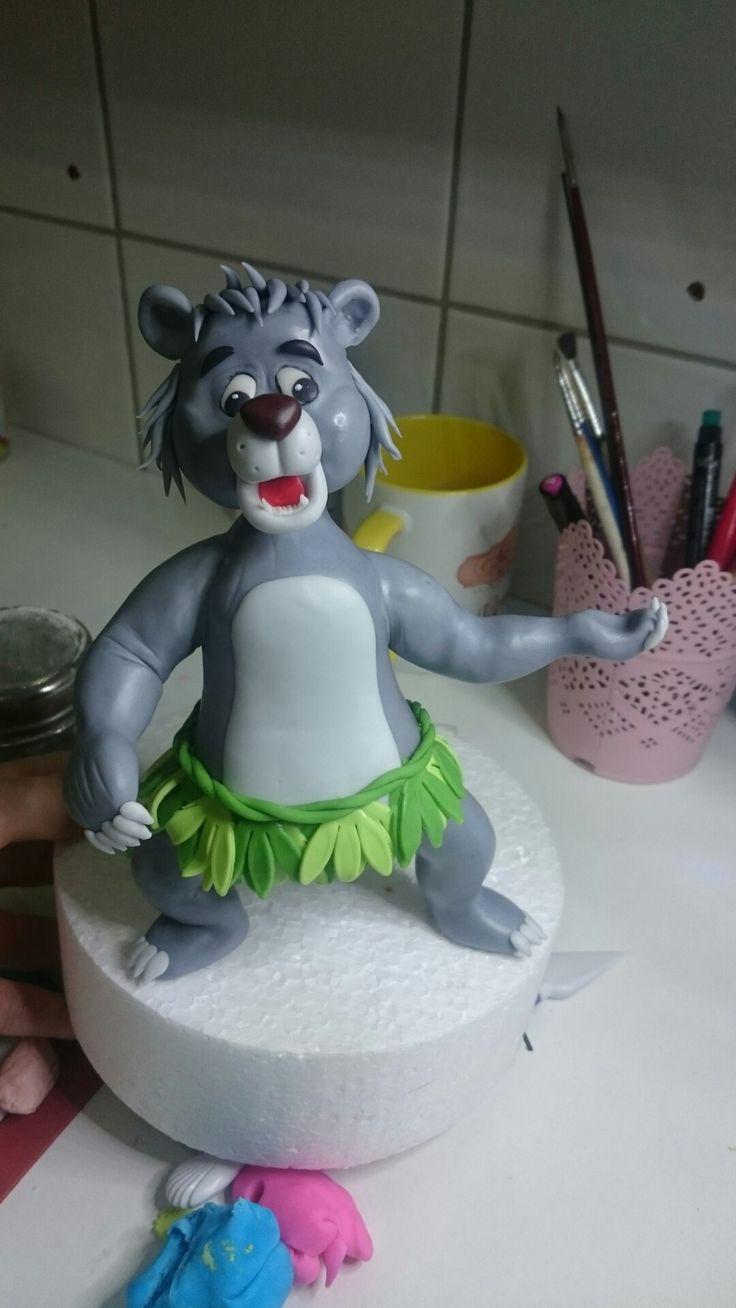 Baloo figurine