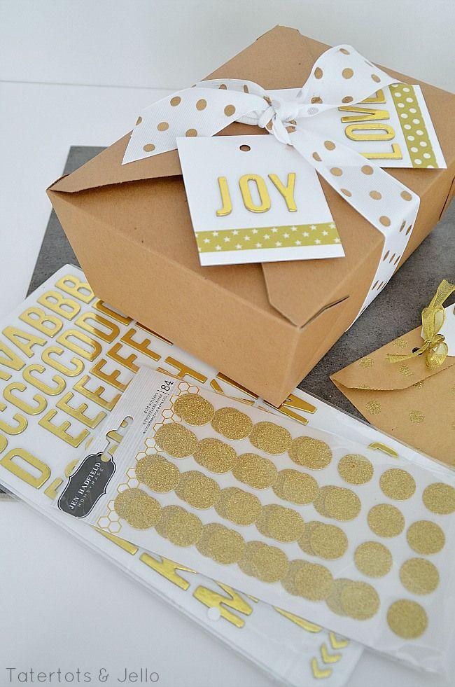 So fun...gold sparkle gift ideas at tatertots and jello  Go get Jen's fun gold accessories!!:
