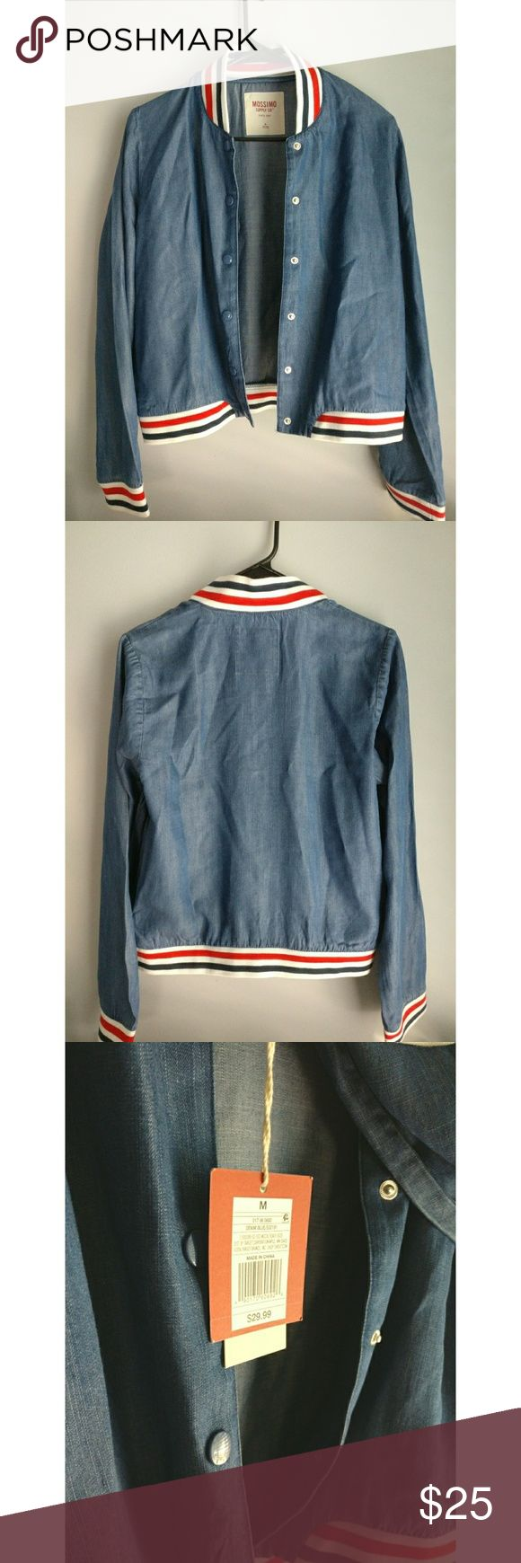 Mossimo Denim Jacket Cute Mossimo Supply Co denim jacket in size M perfect for fall. NWT Mossimo Supply Co. Jackets & Coats