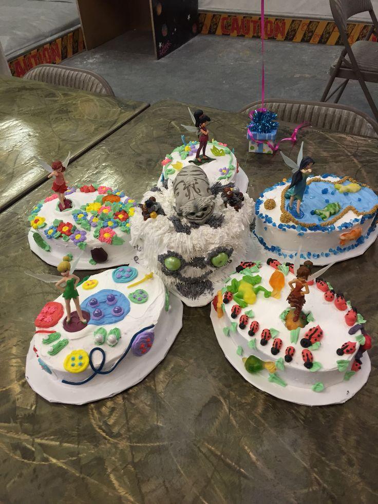 Tinkerbell neverbeast cake Kierra's 8th birthday