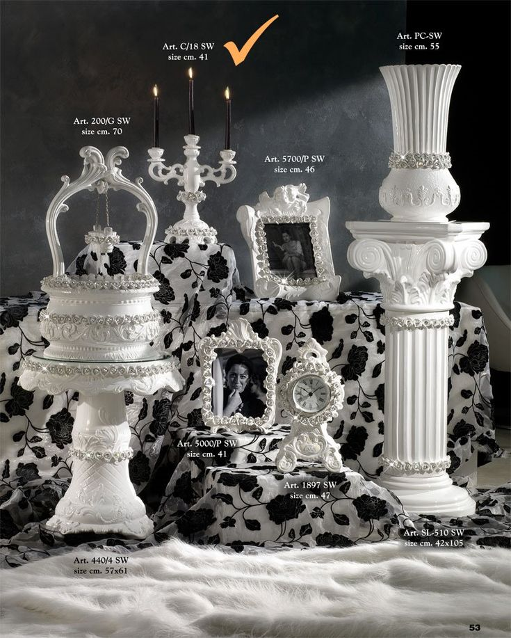 Beutiful White and #Crystal Collection - bestseller !
