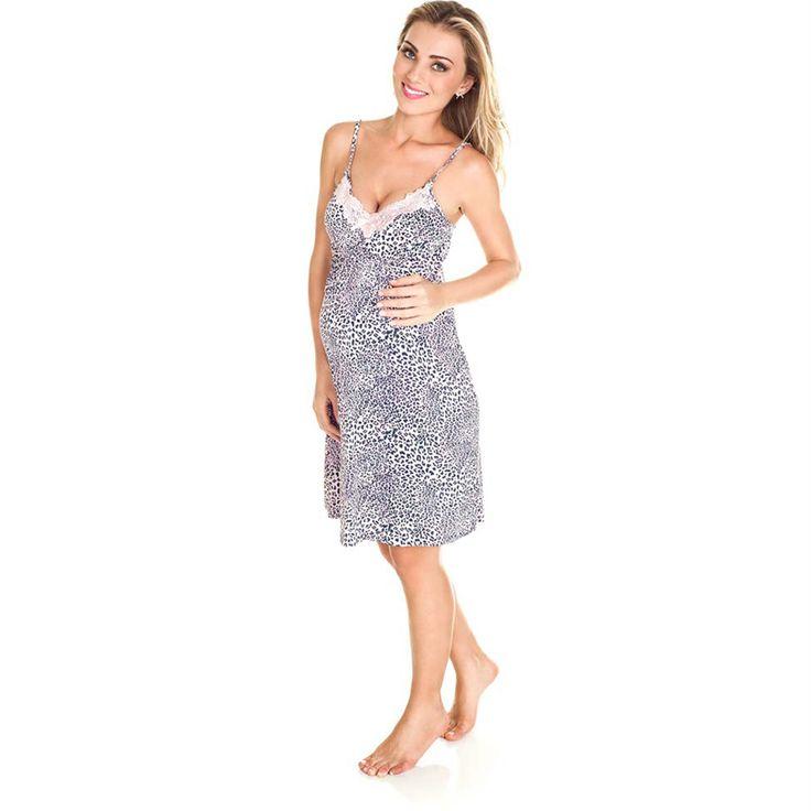 Camisola ou pijama para usar na maternidade? Inspire-se nessa seleção