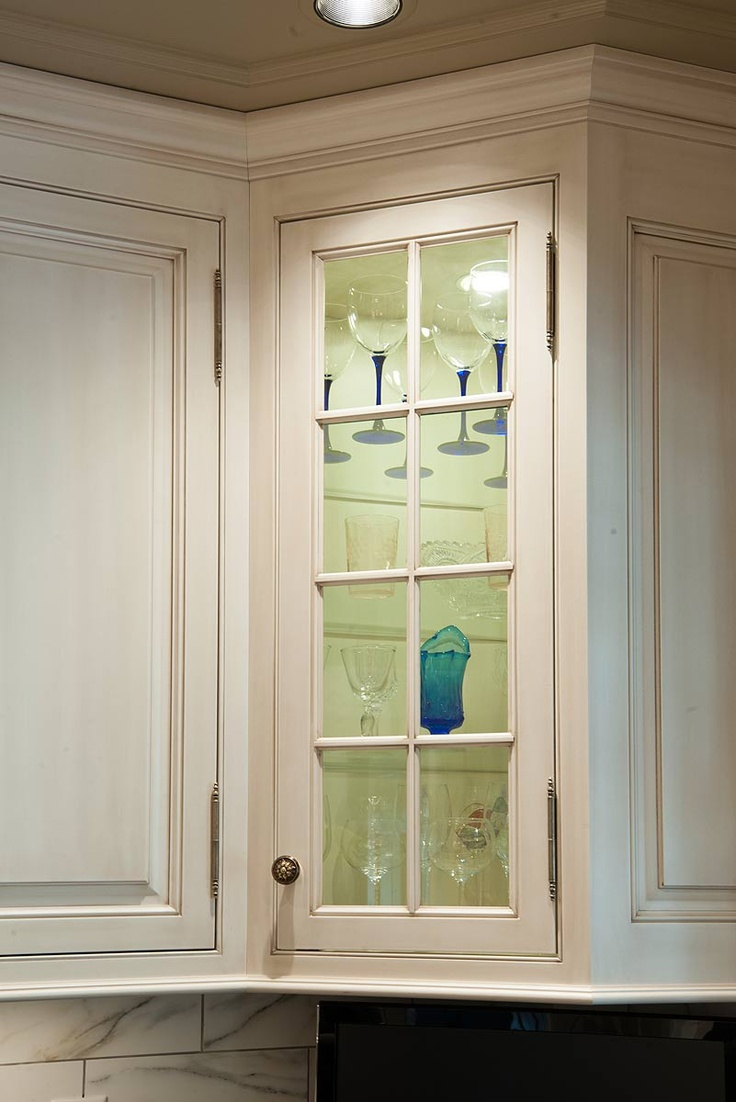 Glass Cabinet Door Paint The Inside Of The Cabinet With