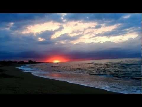 relax amanecer en la playa sonido del mar hd p minutos de relax