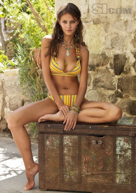 Lucia Dvorska - Sports Illustrated Swimsuit 2009 Location: Cappadocia, Turkey Swimsuit: RYGY Photographed by: Yu Tsai
