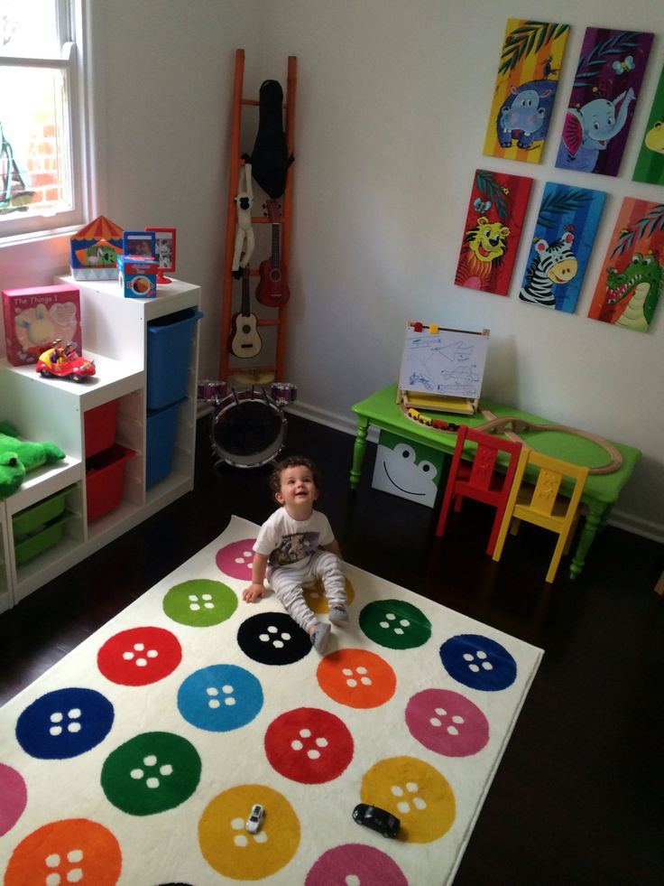 IKEA Buttons Rug For Playroom $50! Bargain Buy!! ❤️