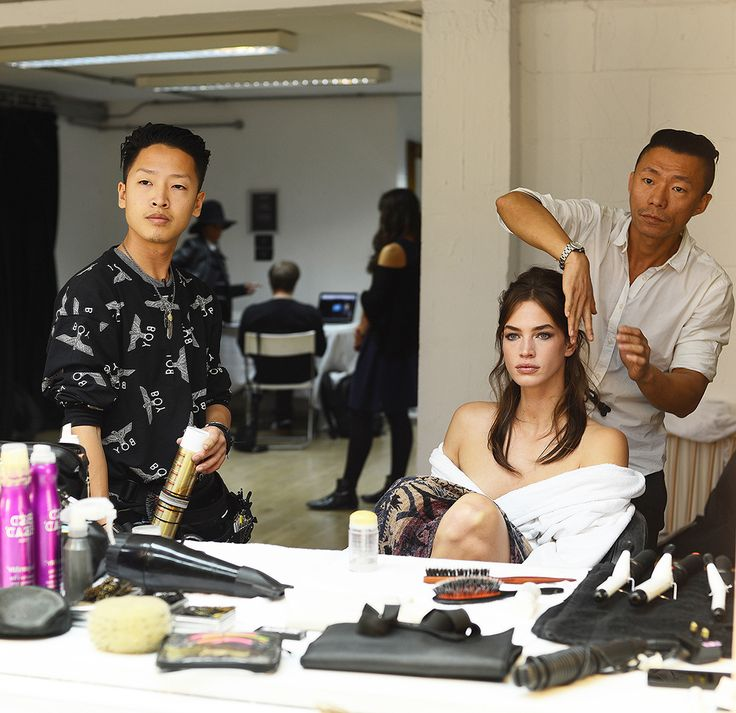 A glimpse behind-the-scenes of the Fay Spring - Summer 2015 campaign photoshoot.