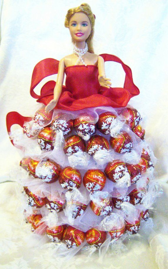 Lindor Chocolate Barbie by smithandstanley on Etsy, $40.00