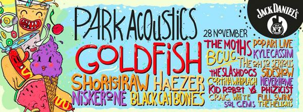 Win tickets to the last Park Acoustics for 2015