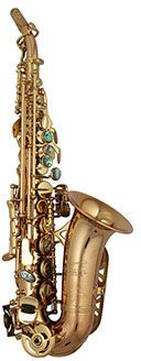P.Mauriat PMSS- 2400GL Curved Soprano Sax  - gold lacquer