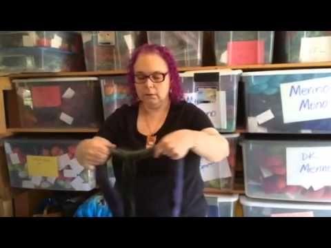 How I prep my fiber for spinning - YouTube