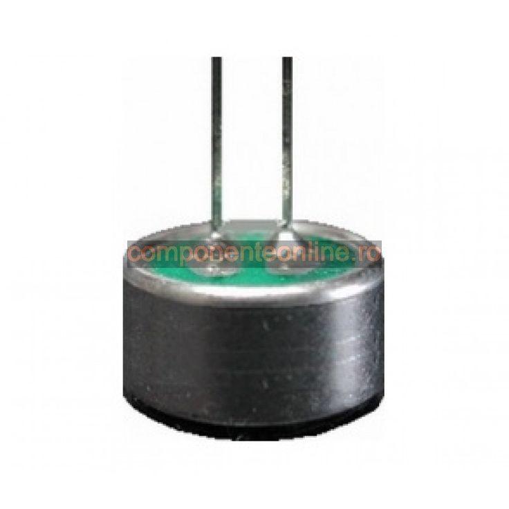Microfon condensator, 9,7x5,1mm, cu terminale - 150123