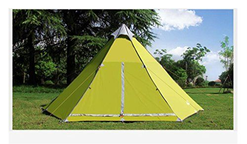 MLveen Outdoor tent 5-8 person tent yurt tents traveling by car Sunscreen waterproof tent camping tent sets