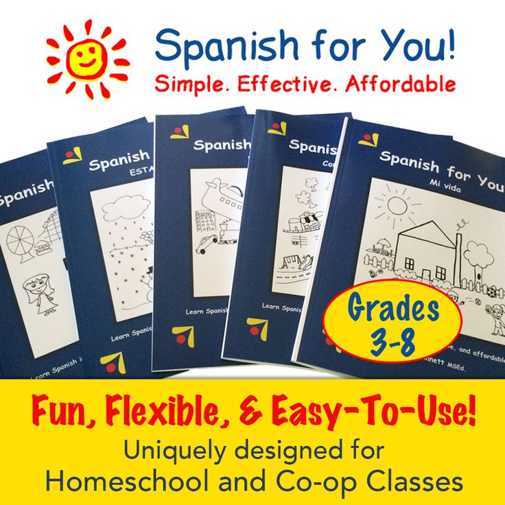 46 best foreign language images on pinterest homeschool spanish for homeschool co op classes grades 3 8 fun fandeluxe Choice Image