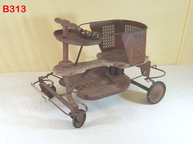 Details About Rare Antique Vintage Baby Doll Buggy