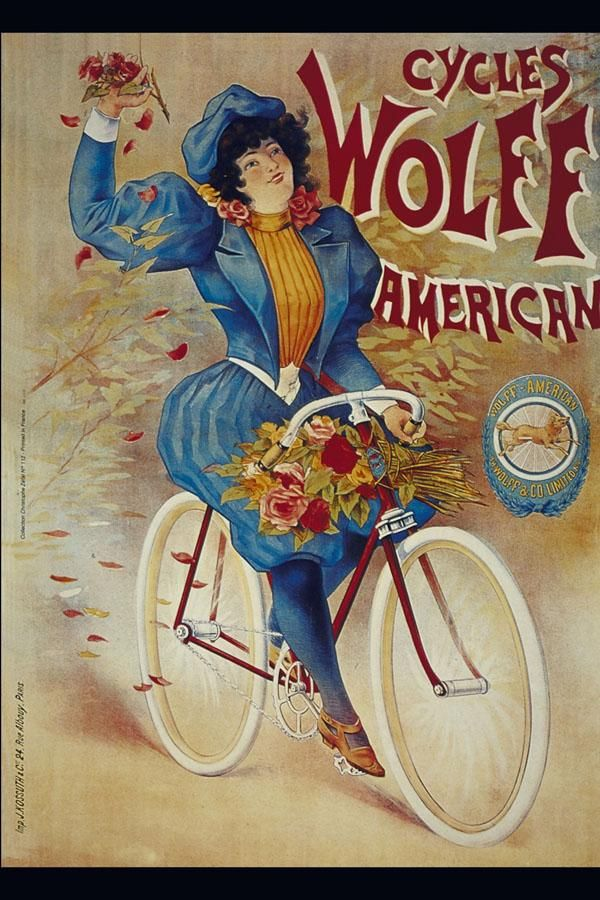 Victorian Bicycle Ad