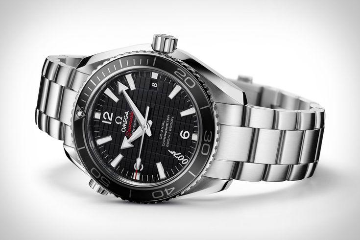 Bond + Omega (Omega Seamaster Planet Ocean 600M Skyfall Watch)