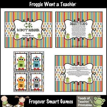 Skill: Children will practice reading Dolch Primer words.Grade Level:Kindergarten through Third Grade, Special Education, ESLYou will recei...