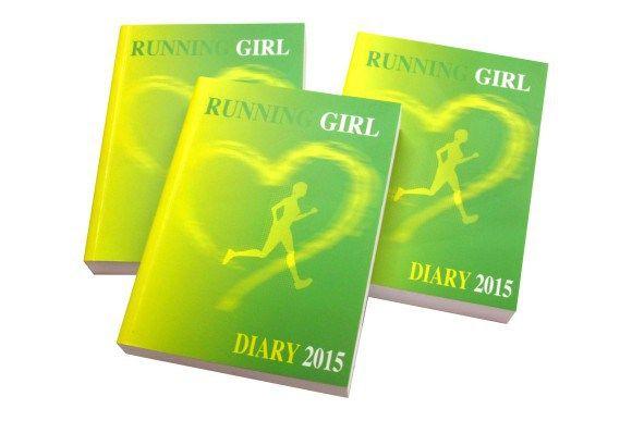 Running Girl Diary 2018