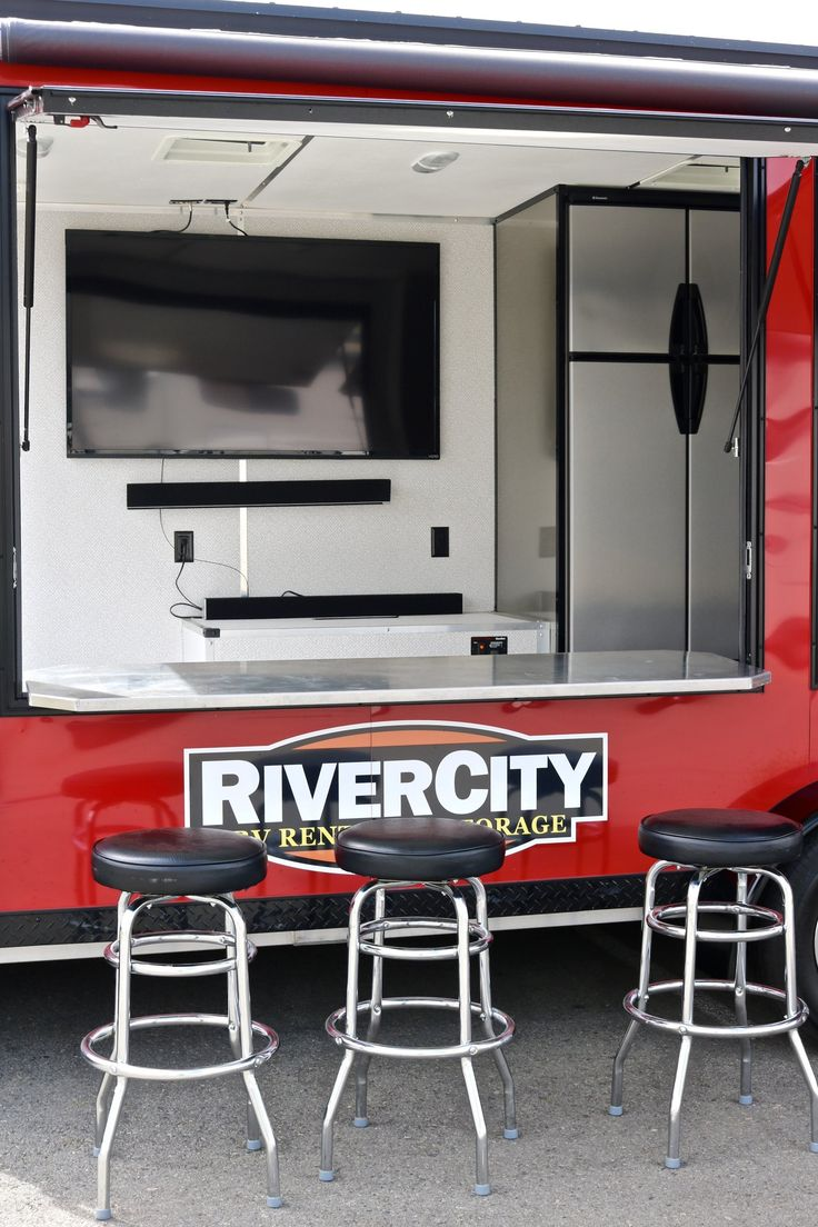Tailgate Party Trailer  Livinglite Game Day Trailer  Have Bar, Will  Travel  Take