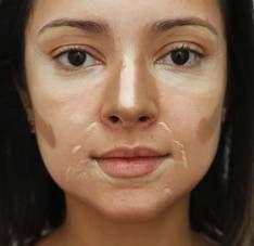 Técnica do contorno define traços e esculpe rosto