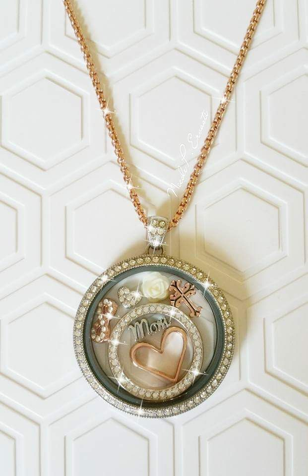 Gorgeous Legacy Locket! You will shine bright with all of the Swarovski Crystals! owlandforever.origamiowl.com