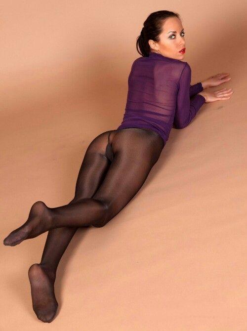 Purple Pantyhose - 5 fotos - xHamstercom
