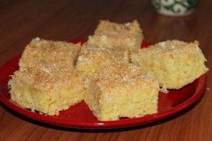 Kokosový šťavnatý koláč