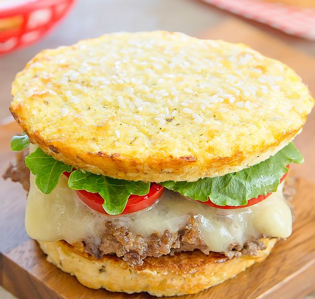Cauliflower bread buns are low carb and gluten free. They are perfect to use with hamburgers, sandwiches and more. And unlike other cauliflower bread substitutes, you don't need to wring dry the cauliflower! I'm really excited to share this recipe with you today. For twomonths I've had the idea of making some sort of cauliflower …