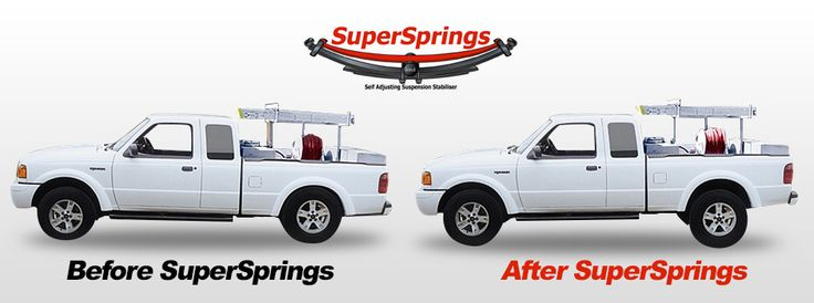 Giving your off-road or commercial vehicle suspension lift, stability and comfort has never been easier with the new robust self-adjusting SuperSprings kit.