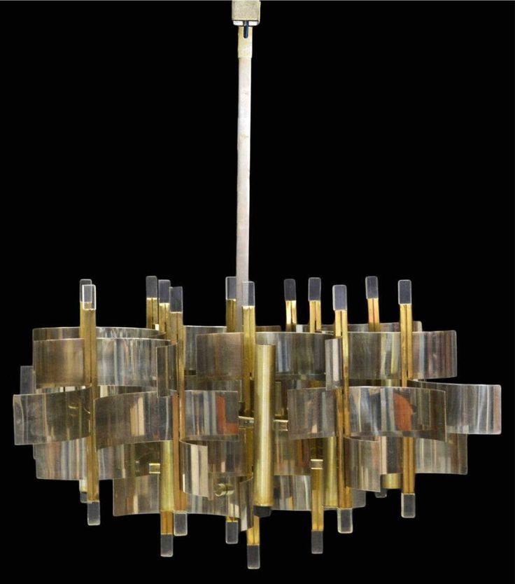 italian modern lighting. italian midcentury modern sixteenlight chandelier c by gaetano sciolari lighting