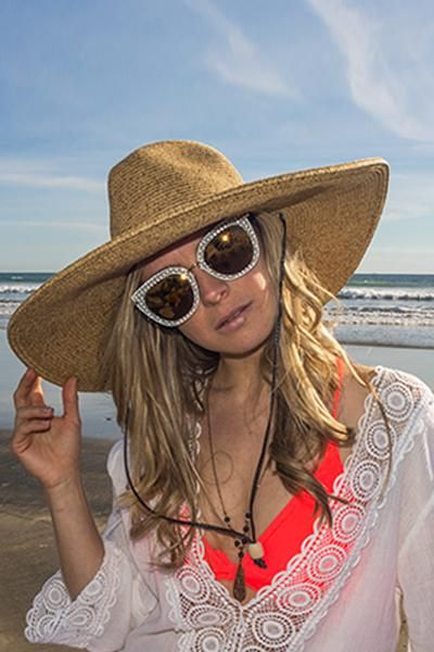 dff54933dec412 El Ranchero Extra Large Brim Straw Sun Hat in 2019 | Hats | Hats ...