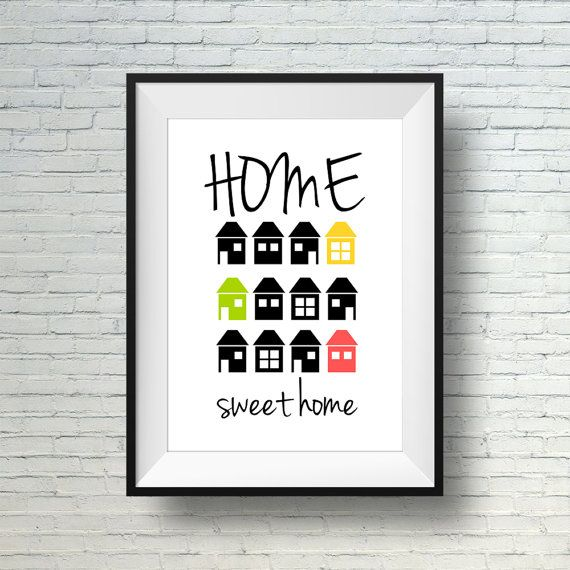 74 best wall art prints images on pinterest quote prints for Minimalist gifts for housewarming