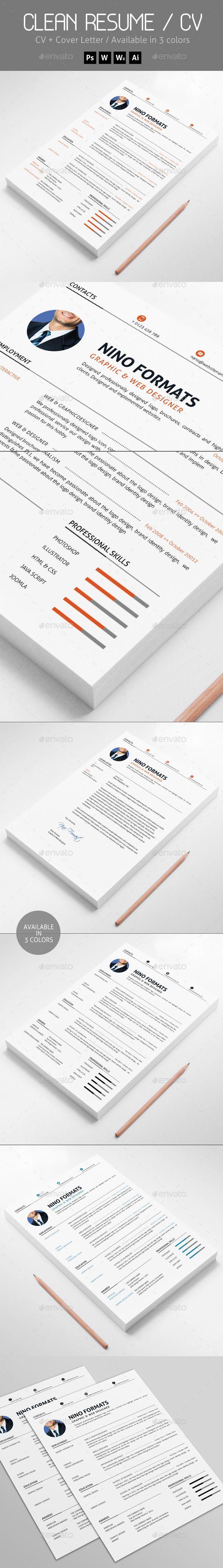 24 best Resume/CV Inspiration images on Pinterest | Design resume ...