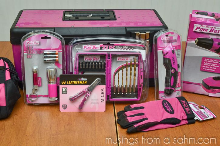 Surprise Mom with The Original Pink Box Tools from Sears {Giveaway}