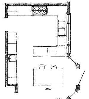Peninsula Kitchen Floor Plan 10 best kitchen-floor plans images on pinterest | kitchen floor