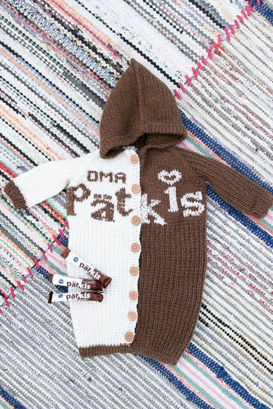 Oma Pätkis -nuttu 60 cm Novita 7 Veljestä | Novita knits