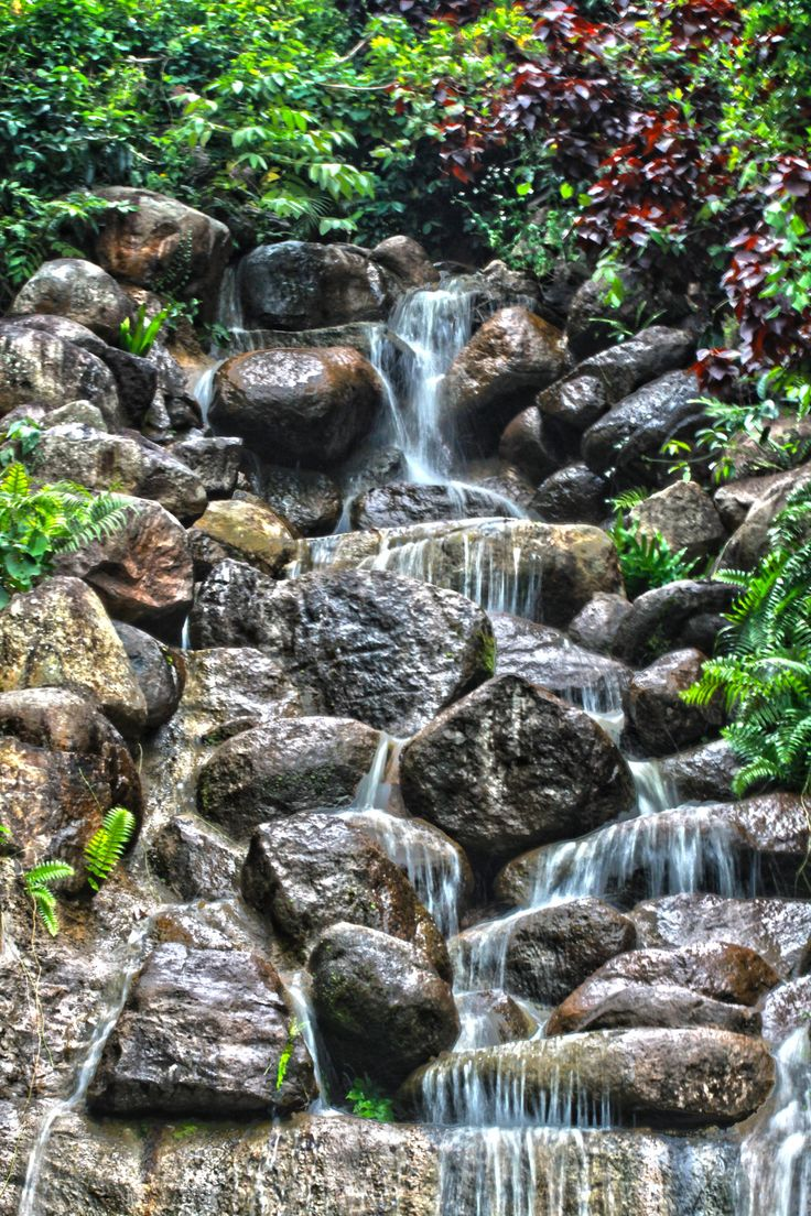 Artificial waterfall, Guaynabo Puerto Rico 2013 by Francisco Gierbolini on 500px