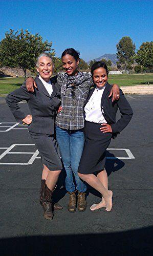Jody Jaress, Zoe Saldana (director of Kaylien), and Judy Reyes on location