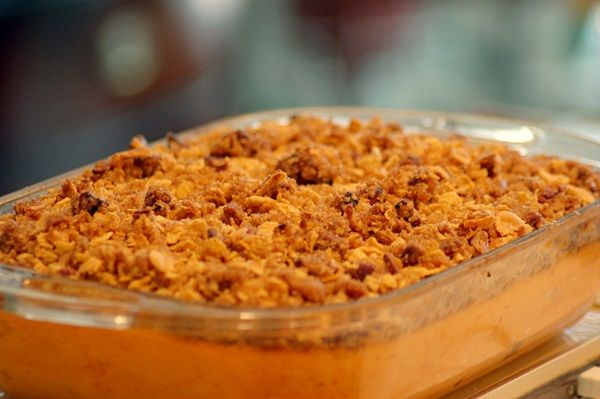 Dairy-Free Sweet Potato Casserole - VEGAN & perfect for the upcoming holidays.
