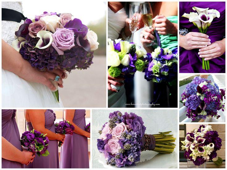 intimate scottish wedding ideas   Purple wedding cake…
