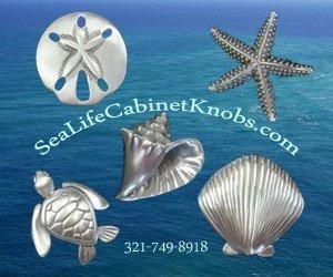 Sea Life Cabinet Knobs - Coastal Home Kitchen