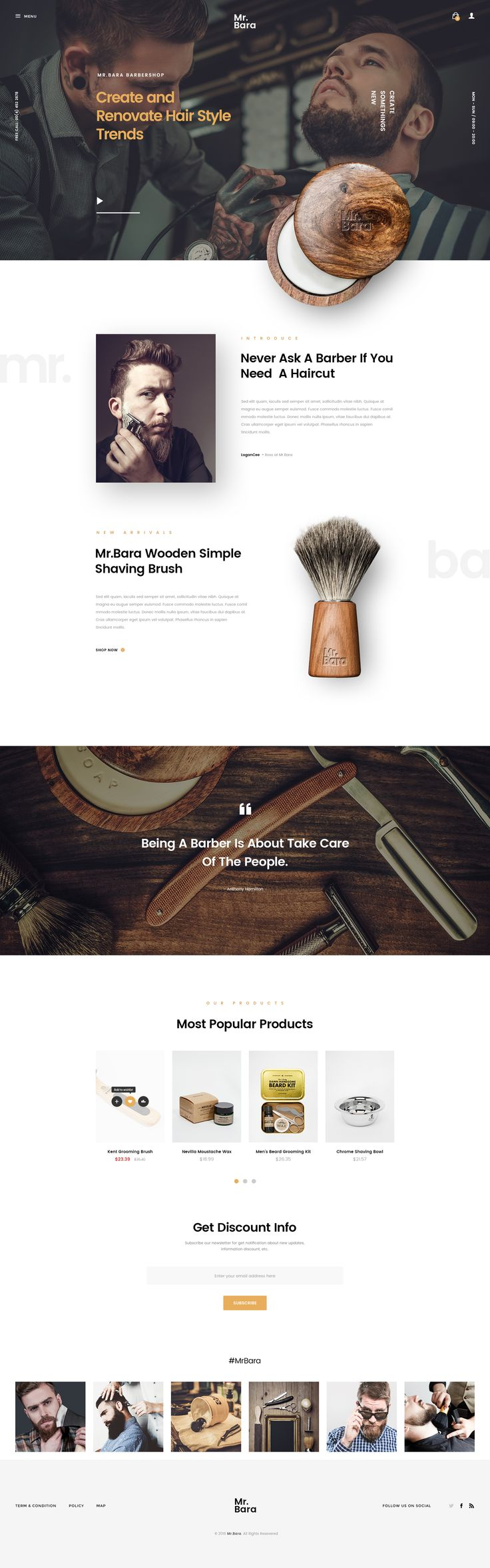 Buy Mr.Bara | A Premium Multi-Ecommerce PSD Template by LoganCee on ThemeForest. Mr.Bara is evaluated as my most unique multi-purpose ecommerce PSD template for shop online with clean and modern de...