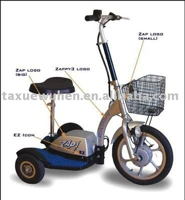 3 4 wheel electric mobility scooters for elderly for Motorized scooters for elderly