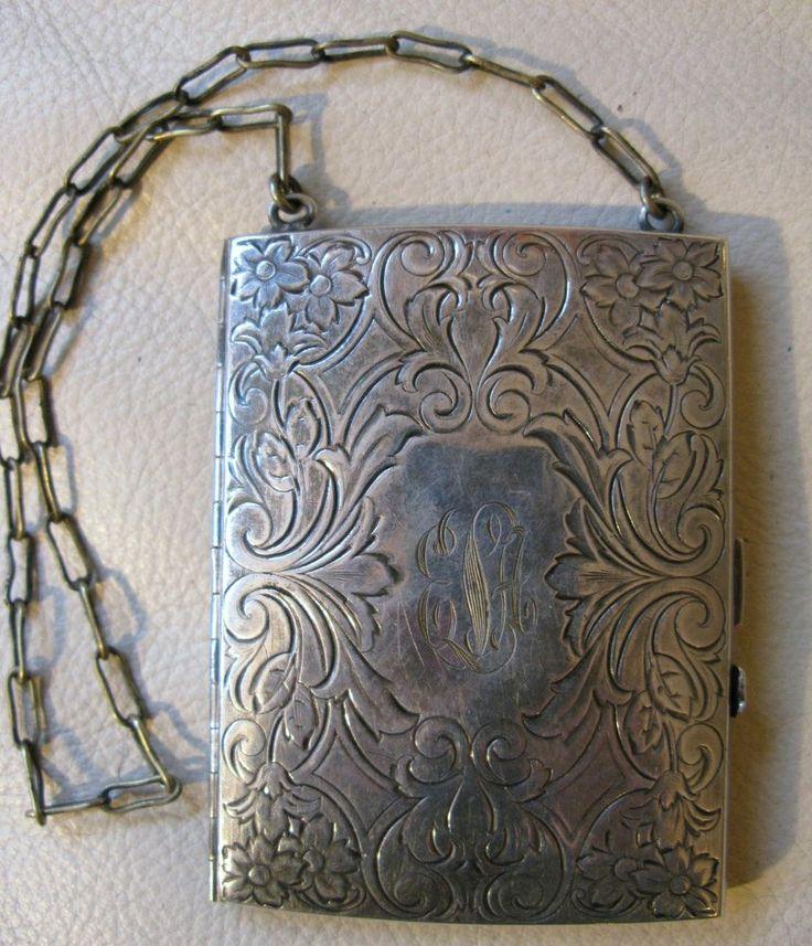 antique coin holder case