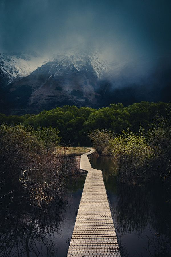 The Walking Path in Glenorchy from #treyratcliff at www.StuckInCustoms.com - all images Creative Commons Noncommercial.
