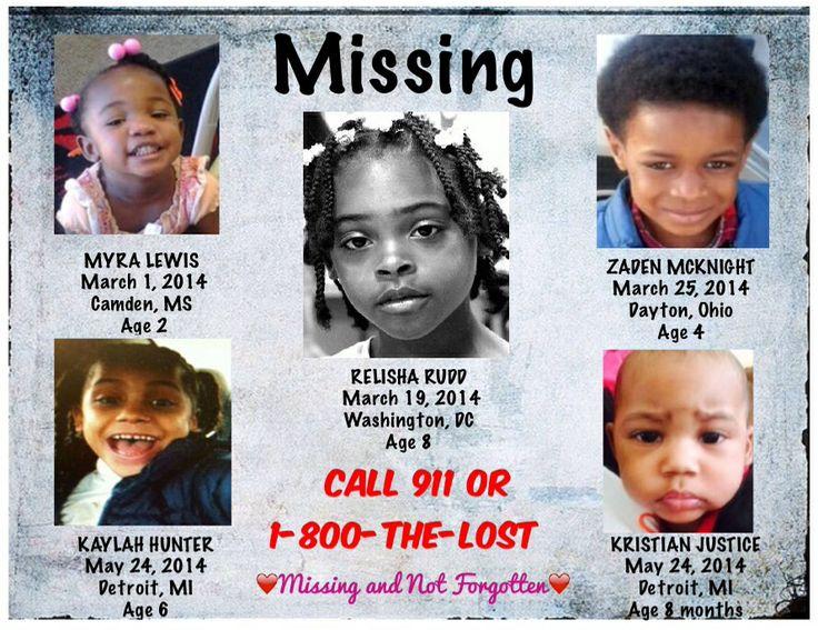 Children that have gone missing, in recent months. MYRA ...