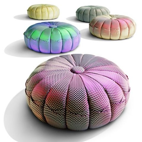 PUNTASPILLONE Pouf   Missoni Home   ArenasCollection.com