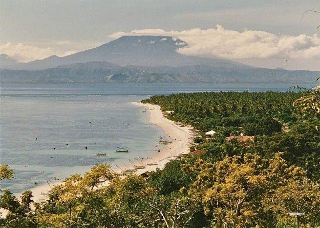 Nusa Lembongan - Agung volcano. 1980