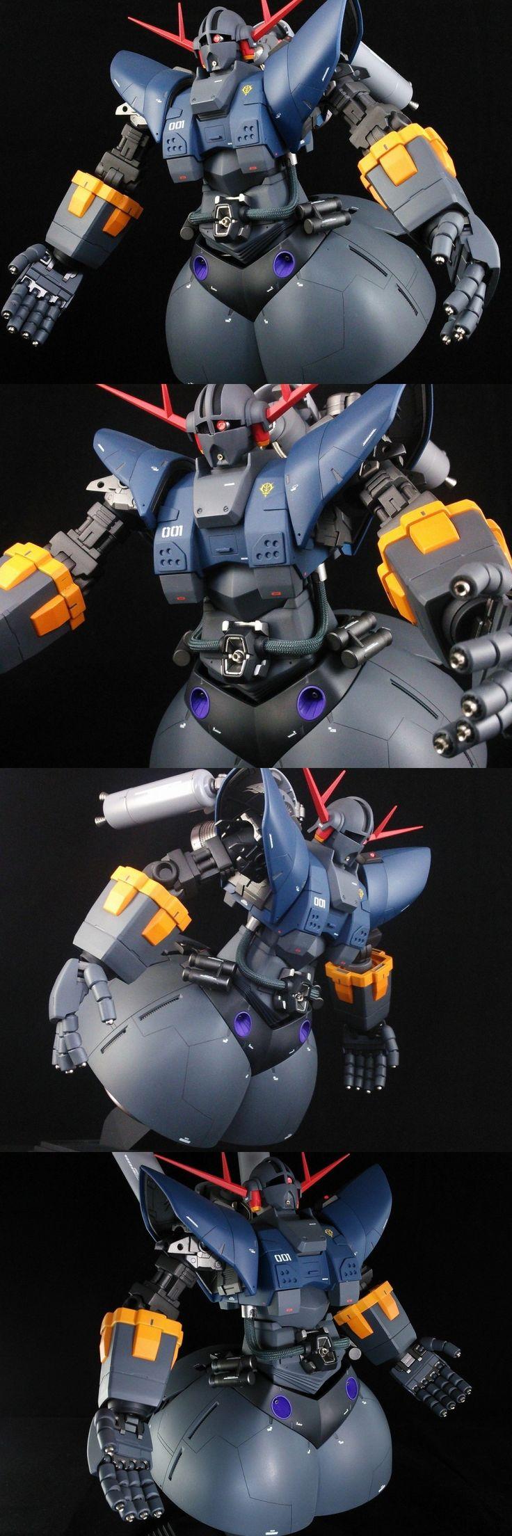 MG/HGUC ZEONG CUSTOM: Work by blue_type_angel. FULL PHOTO REVIEW!   GUNJAP